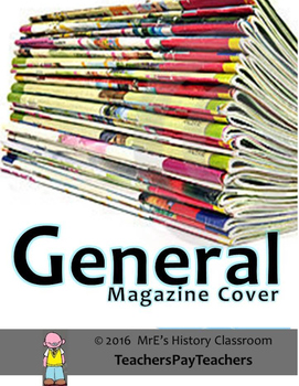 HISTORY  General Magazine Cover