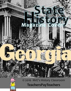HISTORY  Georgia Magazine Cover