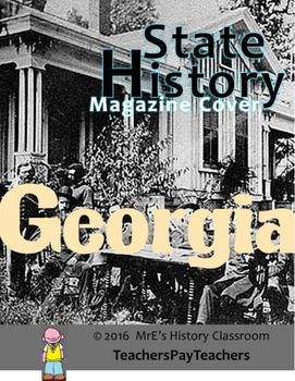 HISTORY  Georgia Magazine Cover