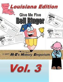 "HISTORY ""Give Me Five"" Vol. 3 the Louisiana Edition"