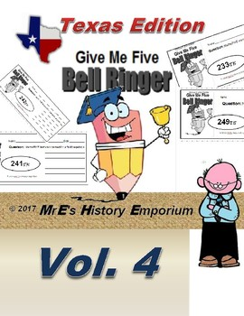 """HISTORY """"Give Me Five"""" Vol. 4 Texas Edition"""