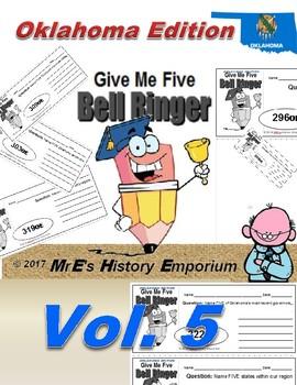 "HISTORY   ""Give Me Five"" Vol. 5 Oklahoma Edition"