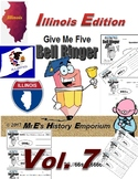 """HISTORY   """"Give Me Five""""  Vol. 7   Illinois Edition bellringers"""