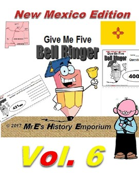 """HISTORY """"Give Me Five"""" Vol 6 the New Mexico Edition"""
