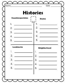 """HISTORY  """"Histories"""" a Game for students"""