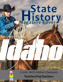 HISTORY  Idaho Magazine Cover