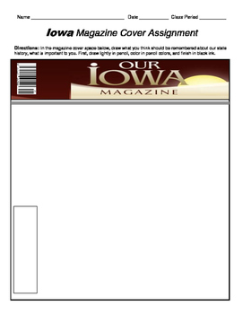 HISTORY  Iowa Magazine Cover