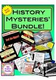 HISTORY MYSTERIES BUNDLE!