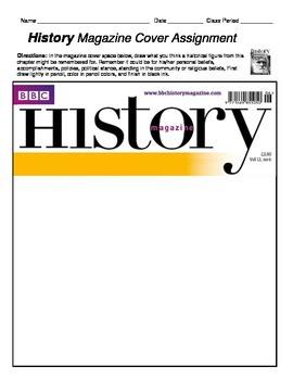HISTORY - Magazine Cover