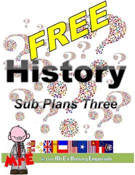 HISTORY Magic Historic Time Machine Sub plans