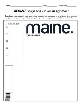 HISTORY  Maine Magazine Cover