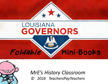 HISTORY Making Governor's Mini-Books