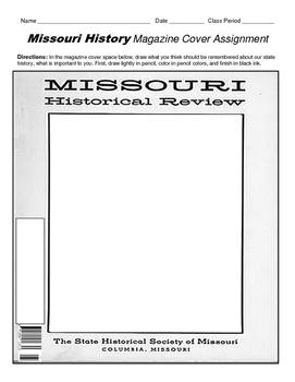 HISTORY  Missouri Magazine Cover