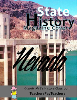HISTORY  Nevada Magazine Cover