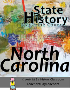 HISTORY North Carolina Magazine Cover