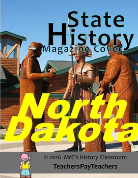 HISTORY  North Dakota Magazine Cover