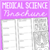 HISTORY OF MEDICAL SCIENCE Research Brochure Template, Wor