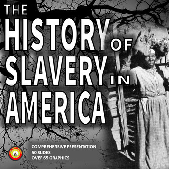 SLAVERY IN AMERICA Engaging 50-Slide Presentation
