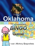 HISTORY    Oklahoma Counties BINGO game