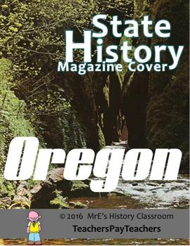 HISTORY  Oregon Magazine Cover