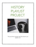 HISTORY PLAYLIST PROJECT