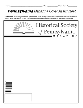 HISTORY  Pennsylvania Magazine Cover
