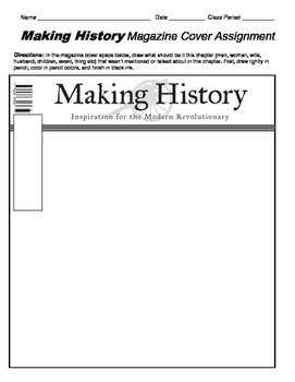 HISTORY  People/Historical Figures Magazine Covers