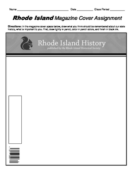 HISTORY  Rhode Island Magazine Cover