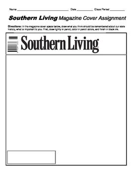 HISTORY  Southern Living Magazine Cover
