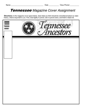 HISTORY Tennessee magazine cover