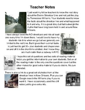 HISTORY    The Real New Orleans Desire Streetcar Line