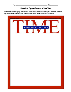 HISTORY Time Magazine Cover project