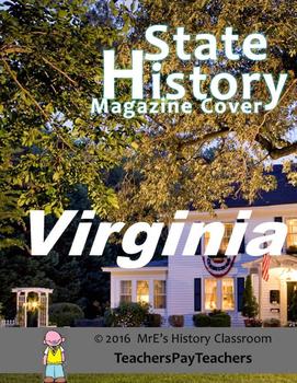 HISTORY  Virginia Magazine Cover
