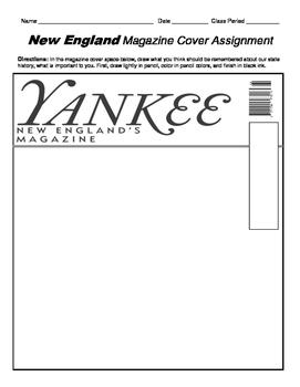 HISTORY  Yankee New England Magazine Cover