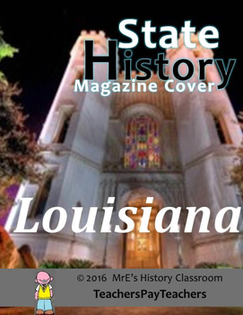 HISTORY  Another Louisiana Magazine Cover