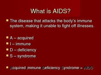 HIV & AIDS - Health Unit
