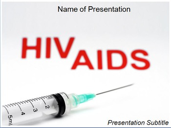 Hiv aids powerpoint template by templates vision tpt hiv aids powerpoint template toneelgroepblik Gallery