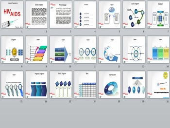 HIV Aids PowerPoint Template