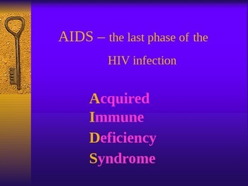 HIV Human ImmunoDeficiency Virus