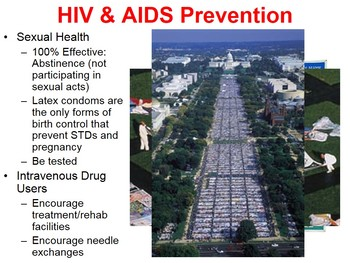 HIV and AIDS PowerPoint (with free handout)