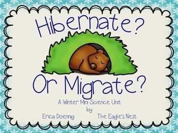 Hibernate? Or Migrate?  A Winter Mini Science Unit