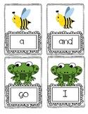 Hibernation Sight Word Game for Literacy Center
