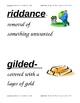 HM Cendrillon Vocabulary Cards