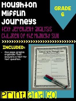 "HM Journey's Grade ""Children of the Midnight Sun"" Text Dependent Analysis"