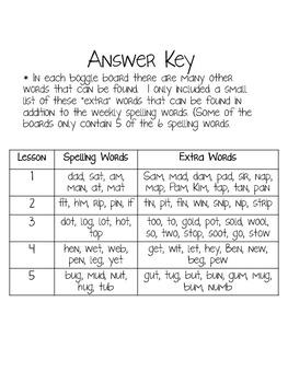 HM Journeys 1st Grade: Unit 1 Spelling Word Boggle