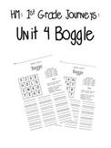 HM Journeys 1st Grade: Unit 4 Spelling Word Boggle