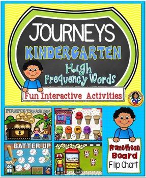 Journeys Kindergarten High Frequency Words Fun Interactive Activities