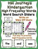 HM Journeys – Kindergarten High Frequency Words ~ Word Search Sliders