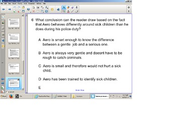 HM Journey's Reading Gr. 3 Comprehension Aero and Officer Mike, lesson