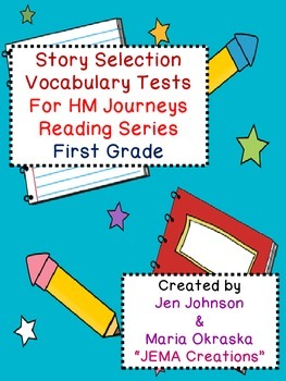 Journeys Selection Vocabulary Tests